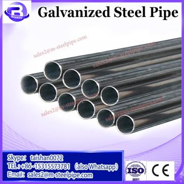 Manufacturer Galvanized Welded Pipe Liquid Tube Pre-Galvanized Steel Pipe