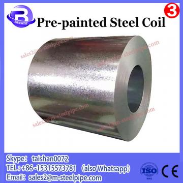 Hot rolled pre painted galvanized steel coils