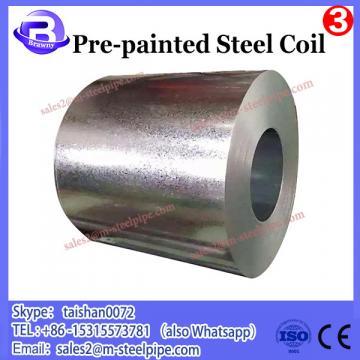 Zero Spangle pre painted galvanized steel coil