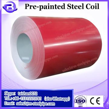 Comfortable new design color zinc pre-painted galvanized steel coil 2 coat bake system ppgi with Long Service Life