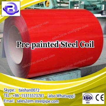 HOT PPGI Pre-painted galvanized color coated steel coil price