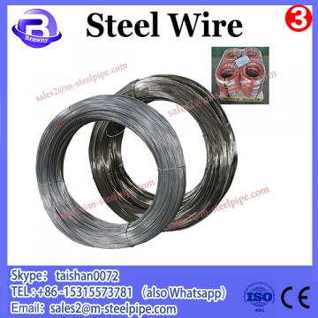 High Tension Strength oval galvanized steel wire
