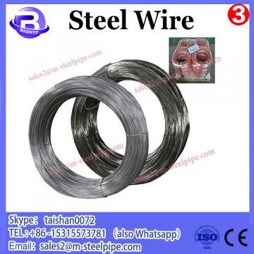 Hot Rolled SAE1008 iron wire making machine steel wire