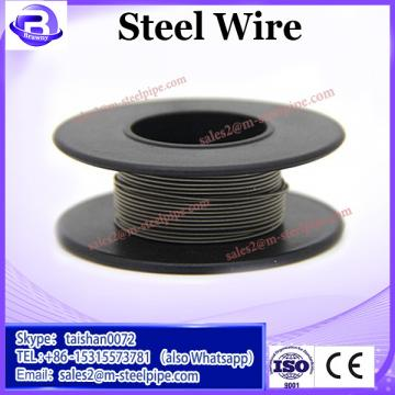 Oval steel wire/Galvanized oval wire