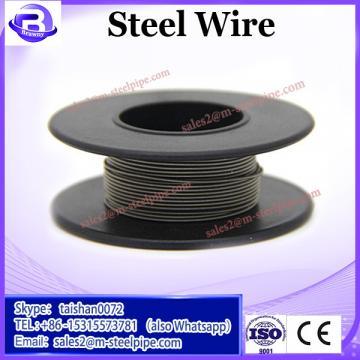 ungalvanized 18 gauge steel wire 6*24+7FC 8mm