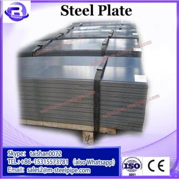 Competitive Price Q235B SS400 Checkered Hot Rolled Steel Plate