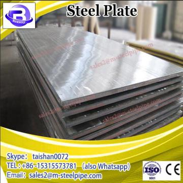 SS400 8mm Hot Rolled Steel Plate / Ship Building Steel Plate